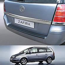 Пластикова захисна накладка на задній бампер для Opel Zafira B 2005-2014