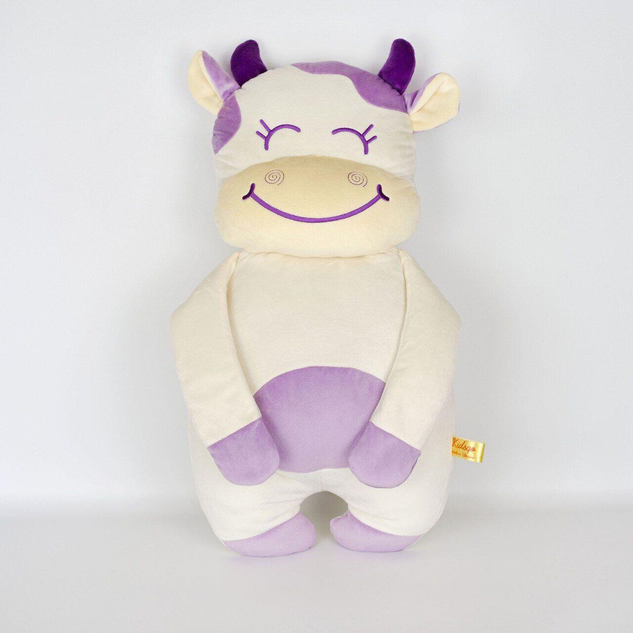 Мягкая игрушка Kidsqo Подушка корова Хлоя 56см