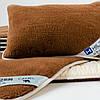 Изысканная подушка с шерсти верблюда. Шерсть/сатин. Гарантия 60 месяцев, фото 6