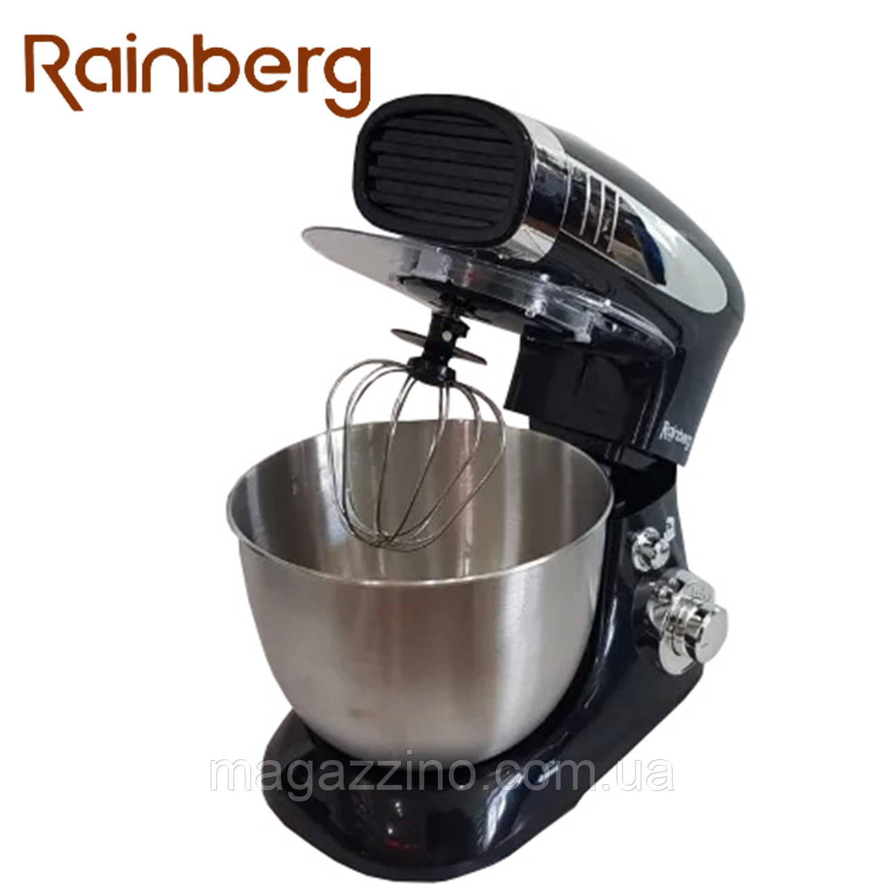 Тестомес, кухонный комбайн, миксер с чашей Rainberg RB-8081, 1500 Вт.
