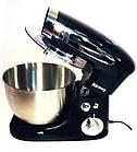 Тестомес, кухонный комбайн, миксер с чашей Rainberg RB-8081, 1500 Вт., фото 2