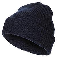 Вязаная шапка крупной вязки MFH темно-синяя