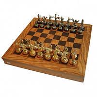 Шахматы Manopoulos Греко-римские Оливковый совет война 41х41см