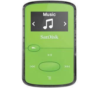 Компактный портативный проигрыватель SanDisk Sansa Clip Jam Green 8GB (SDMX26-008G-G46G)