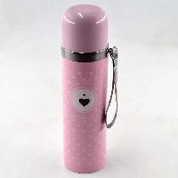 Термос Вакуумный Металлический Benson BN-56 500 ML из нержавеющей стали розовый