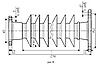 Изолятор ОСК 8-20-К071-4 УХЛ1