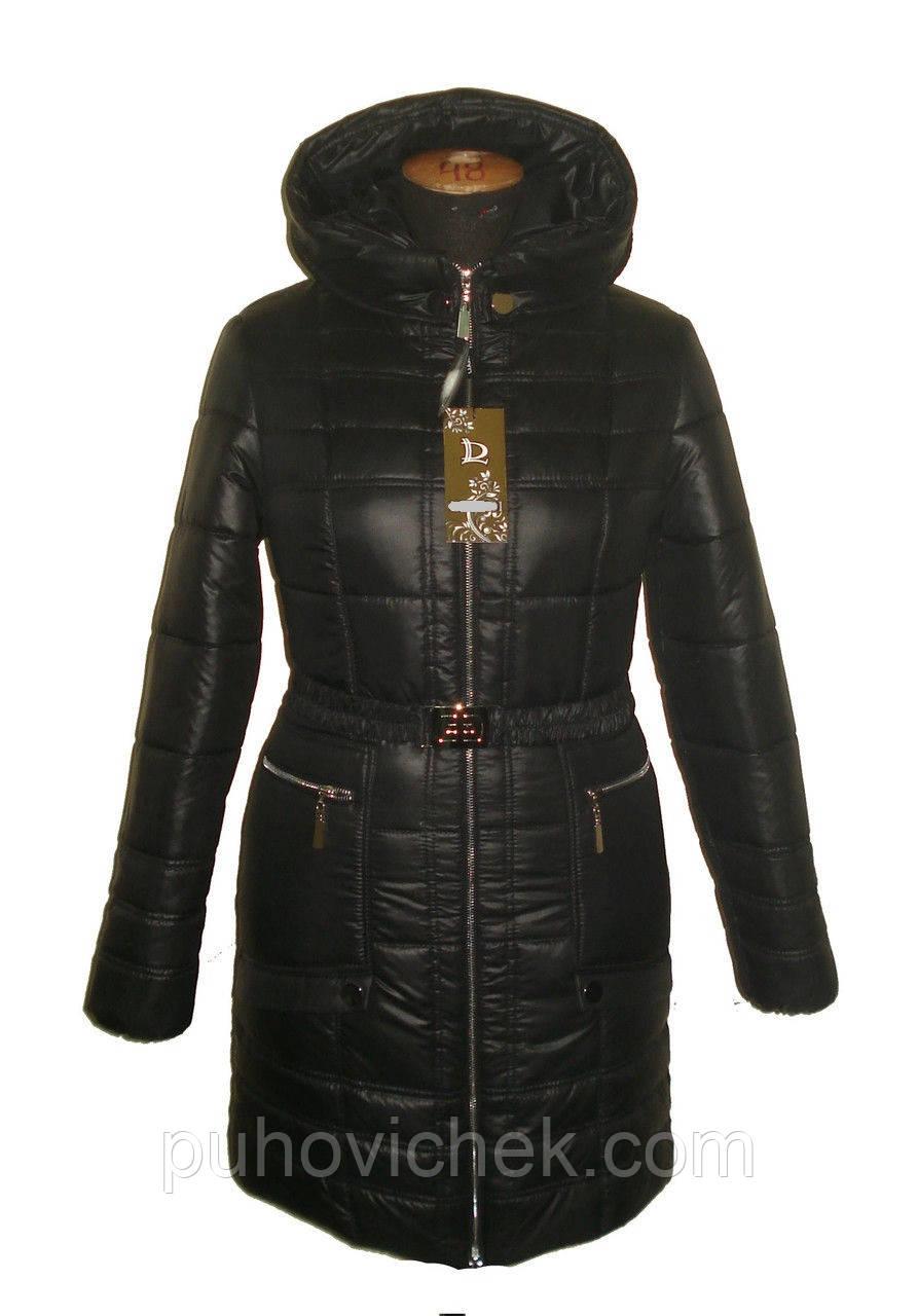 Молодежная зимняя куртка женская