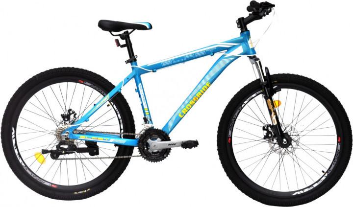 """Горный велосипед Crossride BLAST 26"""" алюминиевый, Бирюзовый"""