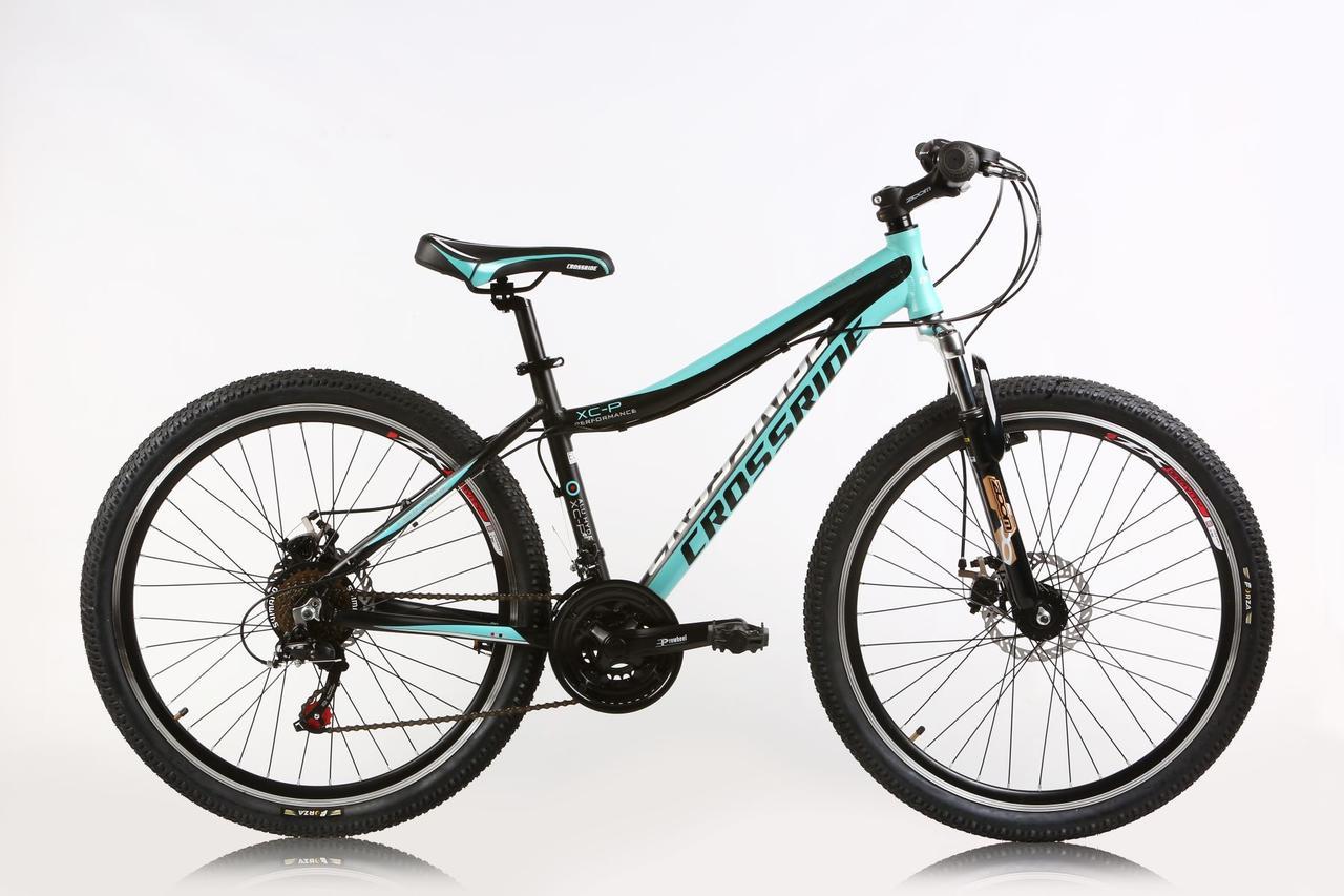 """Горный велосипед Ardis CLEO MTB 27,5"""" алюминиевый, Черно-бирюзовый"""