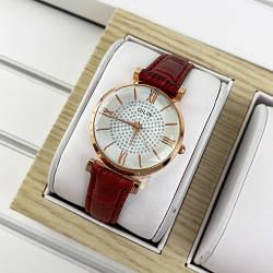 Часы наручные Laconee Qilin05 Red-Gold-White