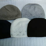 Зимняя шапочка для девочки, фото 5