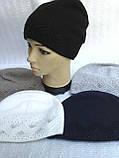 Зимняя шапочка для девочки, фото 3