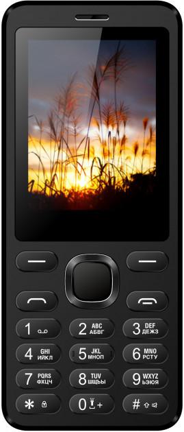 Кнопочный мобильный телефон Nomi i2411 Black