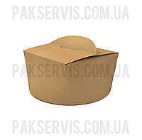 Паста Бокс(салатник) 1200мл Крафт 1PE 1/300