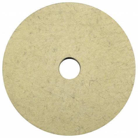 Круг полировальный войлочный 200х40х32 (китайская шерсть), фото 2