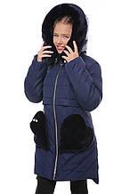 Зимняя куртка  на девочек  на 7-14 лет