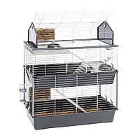 Триповерхова клітка для кроликів і гризунів Ferplast Barn 100 Double (Ферпласт Барн 100 Дабл)