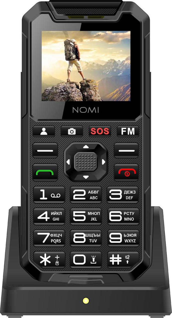 Кнопочный мобильный телефон Nomi i2000 Black