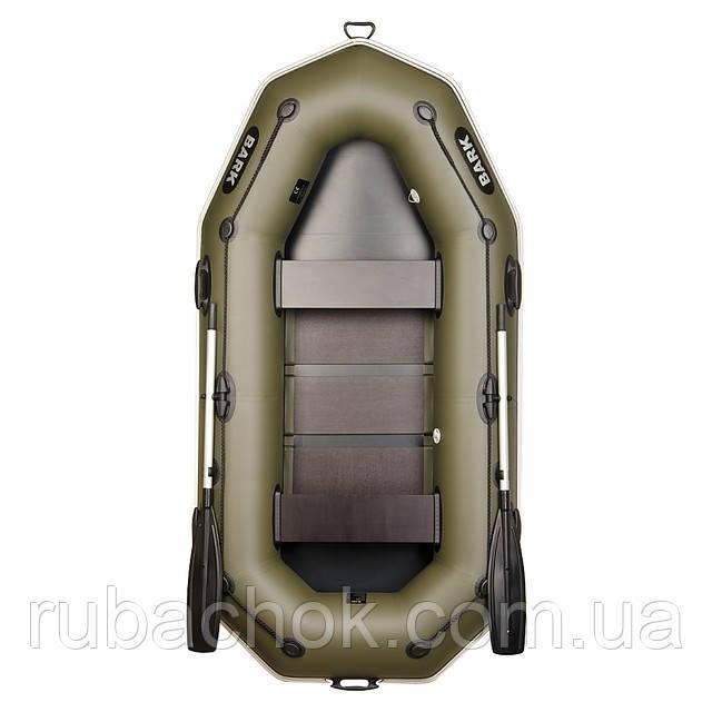 Двухместная гребная надувная лодка Bark (Барк) В-260Р
