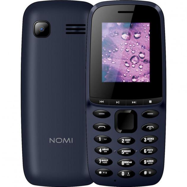 Кнопочный мобильный телефон Nomi i189 Blue