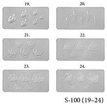 Силиконовые формы для лепки Lady Victory LDV S-100 (19-24) /0-1