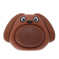 Колонка собачка MB-M818 (MB-M818(Brown)), портативная колонка,колонка bluetooth,колонки,блютуз колонка