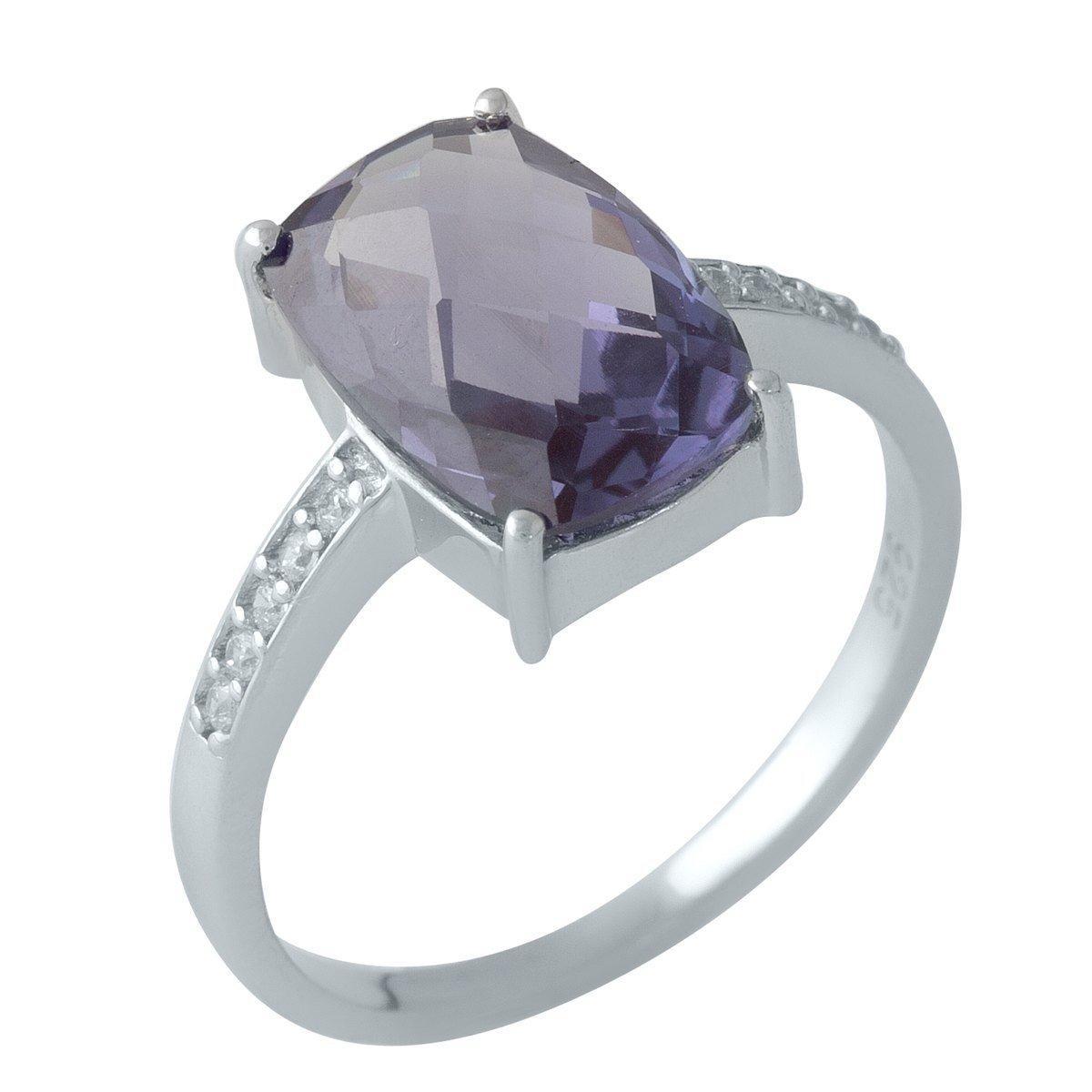 Серебряное кольцо DreamJewelry с олександритом 4.83ct (1131985) 17.5 размер
