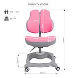 Детское эргономичное кресло FunDesk Diverso Pink, фото 9