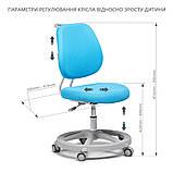 Дитяче ергономічне крісло FunDesk Pratico Mint, фото 9