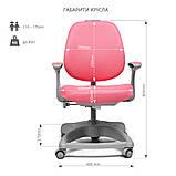 Ортопедичне крісло для дівчинки FunDesk Delizia Pink, фото 10
