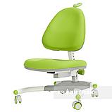 Комплект для школьника растущая парта Cubby Fressia Grey + кресло для дома FunDesk Ottimo Green, фото 6