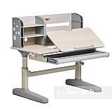 Комплект школьника 👨🏫  парта-трансформер Fundesk Amico Grey + ортопедическое кресло FunDesk Bravo Grey, фото 6