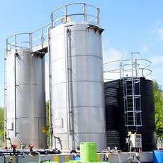 Резервуары и баки для хранения токсичных веществ