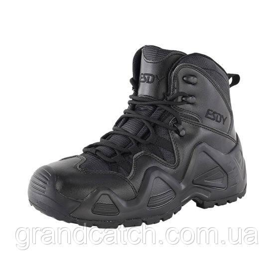 Ботинки ESDY Aligator Черные