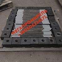 Фундаментный анкерный болт ГОСТ 24379.1-80 09Г2С М20