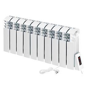 Електричний радіатор Flyme Compact 10 секції / 990 Вт / під низький підвіконня