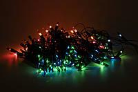 Светодиодная гирлянда музыкальная обычные лампочки 100Л разноцветная (350568)
