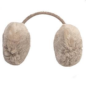 Меховые наушники детские теплые из эко меха, 15*13*12,5 см, серые (240110)