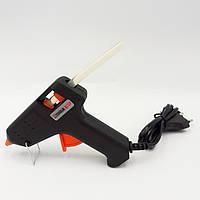 Пистолет клеевой электрический (термопистолет) диаметр стержня 8 мм, 50 Вт Htools (42B499)