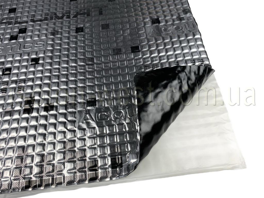 Віброізоляція Acoustics Alumat, 350х500мм, товщина: 1.6 мм