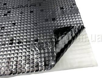 Виброизоляция Acoustics Alumat, 350x500 мм, толщина 2.2 мм