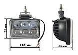 Светодиодные фары LED (лэд) фары с линзами. 48 Вт. 12-24 Вольт., фото 2