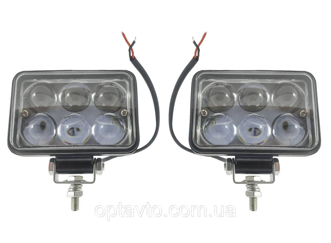 Светодиодные фары LED (лэд) фары с линзами. 48 Вт. 12-24 Вольт.