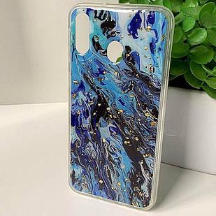 "Силіконовий чохол Samsung M20 2019 ""Art Case"" (12)"