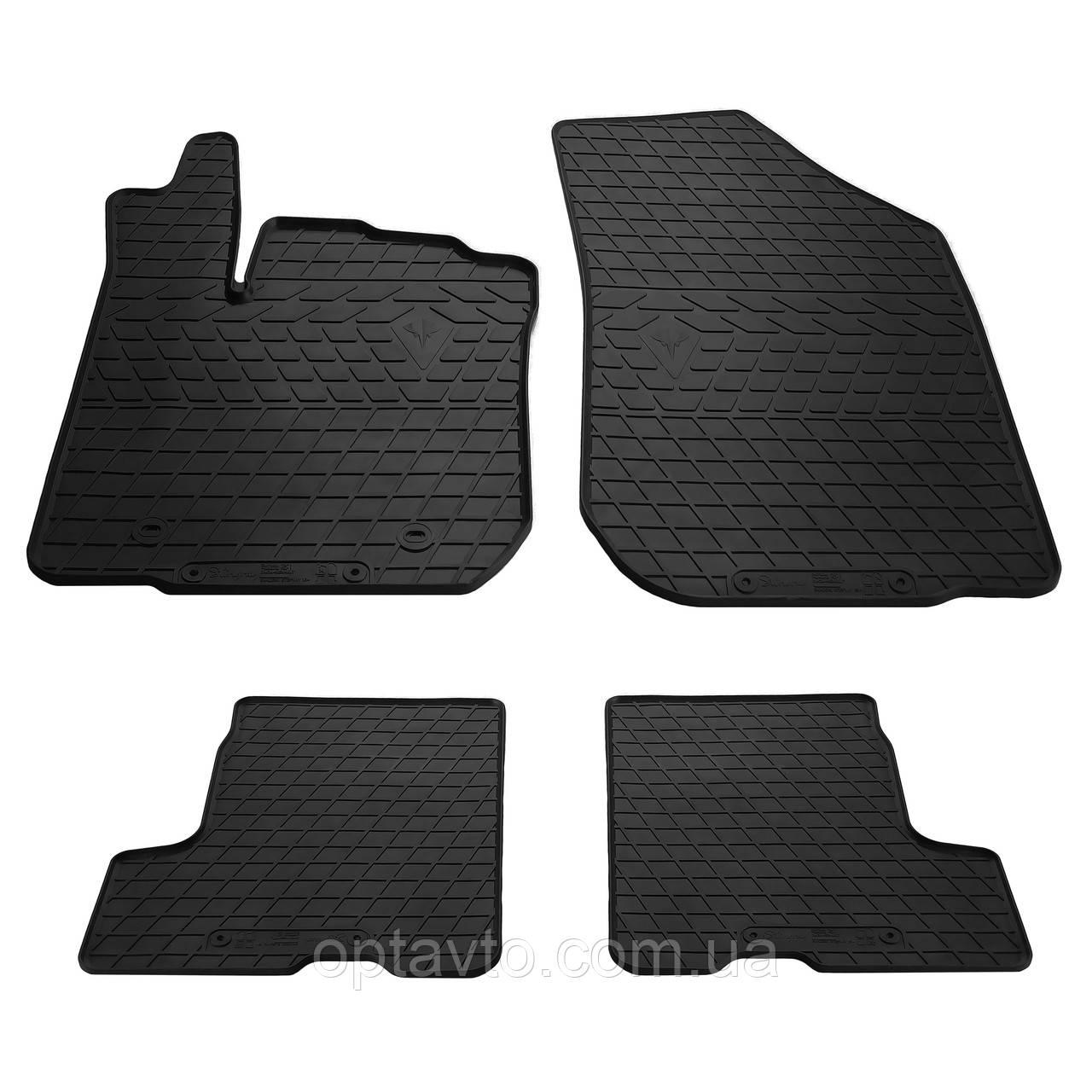RENAULT Sandero Stepway  - комплект качественных резиновых ковриков. Комплект 4 шт. (2012-2020)
