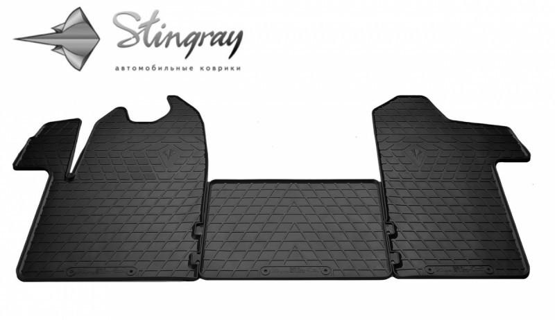 Резиновые коврики в автомобиль Renault Master III 2011- (Stingray)