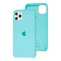 Чехол Silicone Case для iPhone 11 Pro Mint