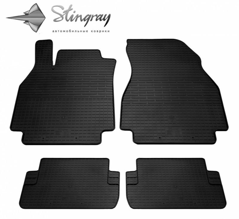 Резиновые коврики в автомобиль Renault Megane II 2002-2008 (Stingray)
