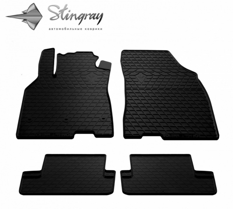 Резиновые коврики в автомобиль Renault Megane III 2008-2015 (Stingray)