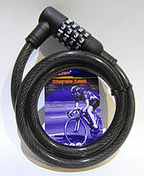 Велозамок Tonyon кодовый TY535 12mm-1000mm (TY535-1), фото 1